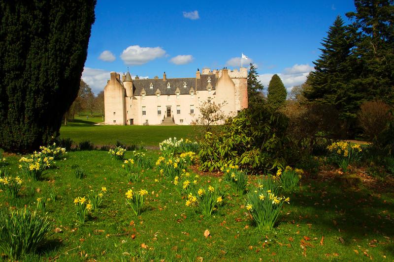Crathes Castle. Aberdeenshire.