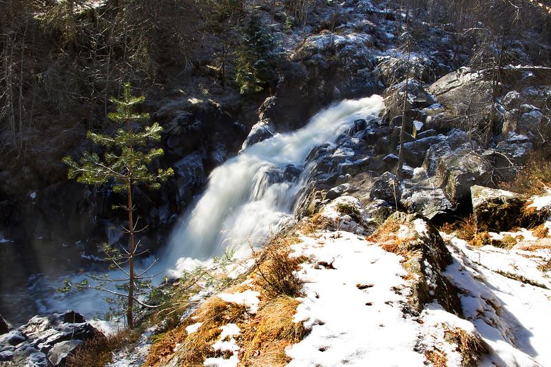 The Falls of MUICK. Aberdeenshire.