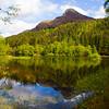 Lochan near Glencoe Scotland.