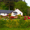 A Cottage at Glencoe Village. Scotland.