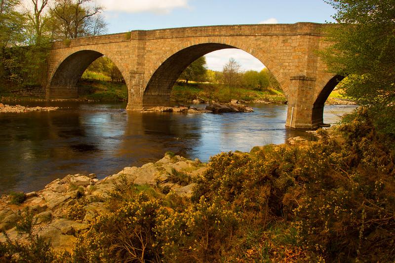 Potarch Bridge. Aberdeenshire. Scotland.