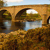 Potarch Bridge. Aberdeenshire. Scotland.