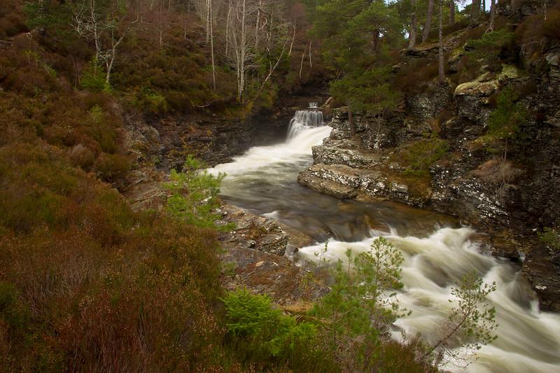 Lui Water Braemar Scotland.