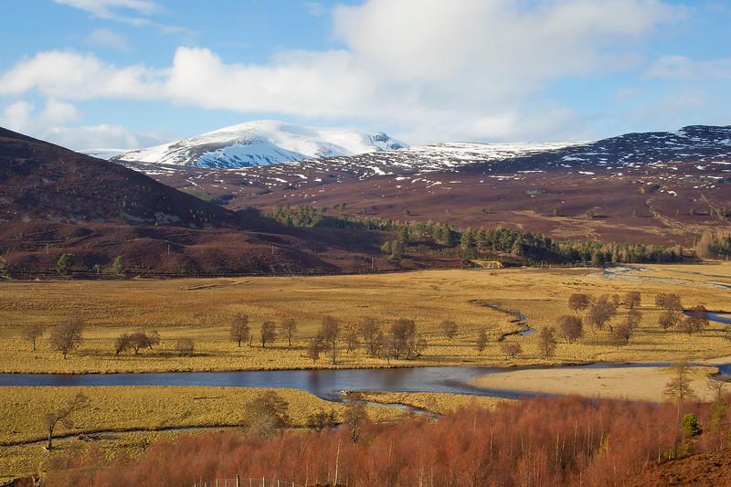 The Mountain of Beinn A Bhuird. Braemar. Aberdeenshire Scotland.