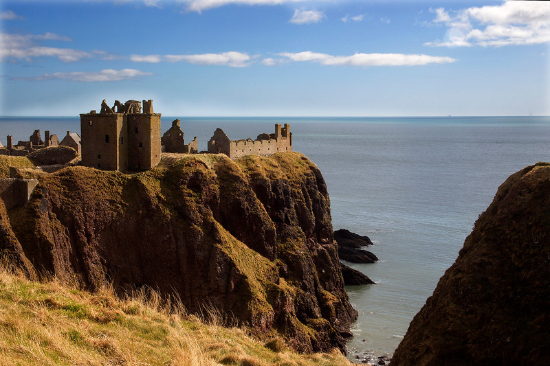 Dunottar Castle. Scotland.