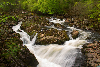 The Falls Of Feugh at Banchory. Aberdeenshire. Scotland.