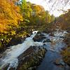 Falls of Feugh. Banchory. Aberdeenshire.