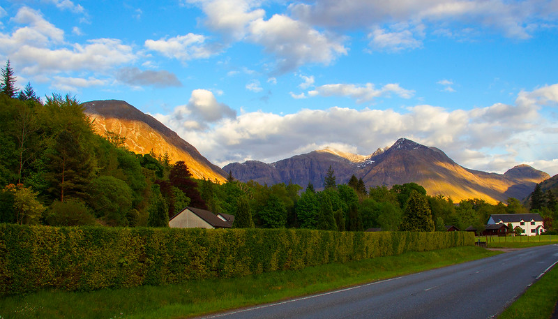 Pic. taken from the Village of Glencoe.