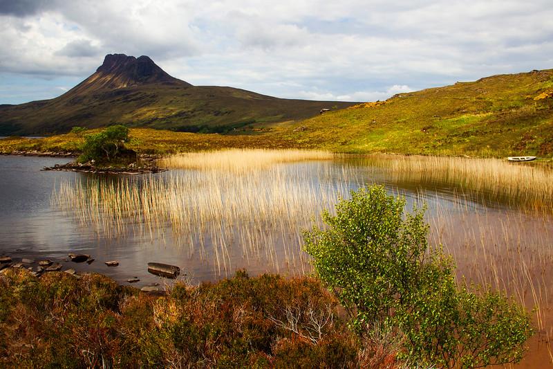 Stack Polly Mountain. Sutherland. Scotland.