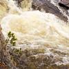River in Spate. Linn of Dee. Aberdeenshire.