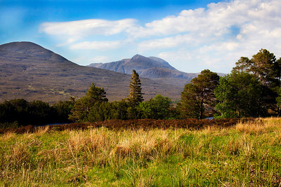 The Mountain of Culmore Sutherland. Scotland.