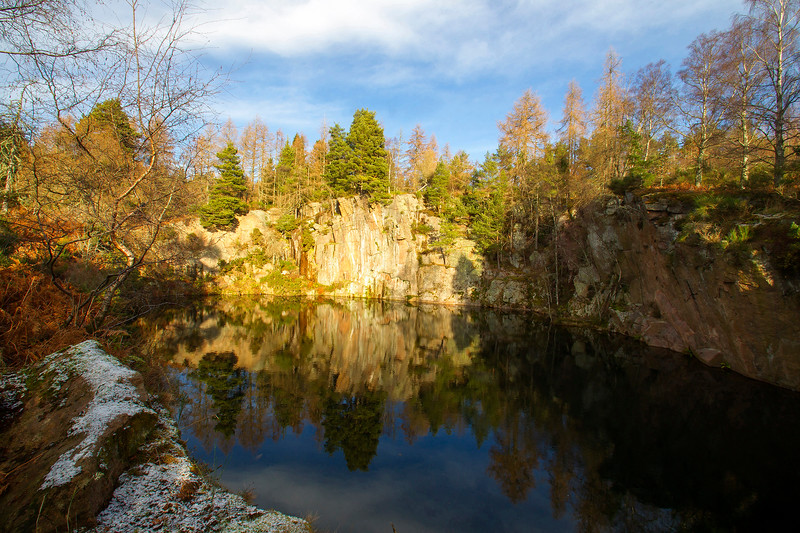 Quarry in Aberdeenshire.
