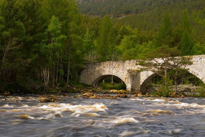 Invercauld Bridge. Aberdeenshire.