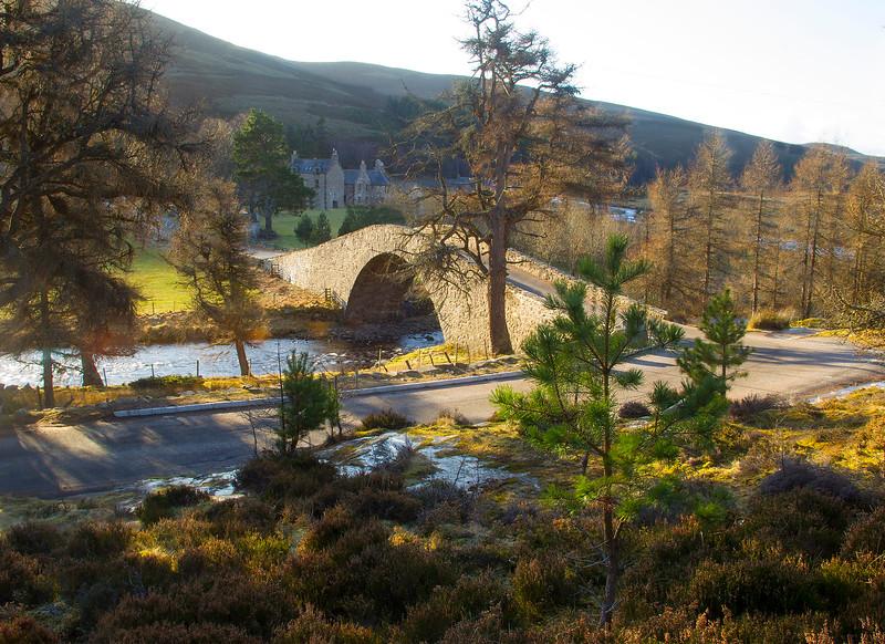 Bridge at the Gairn. Aberdeenshire.