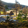 Bridge at the Gairn. Aberdeenshire.