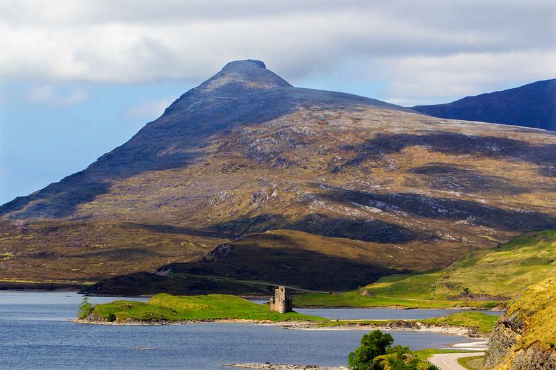 Ardvreck Castle. Sutherland. Scotland.