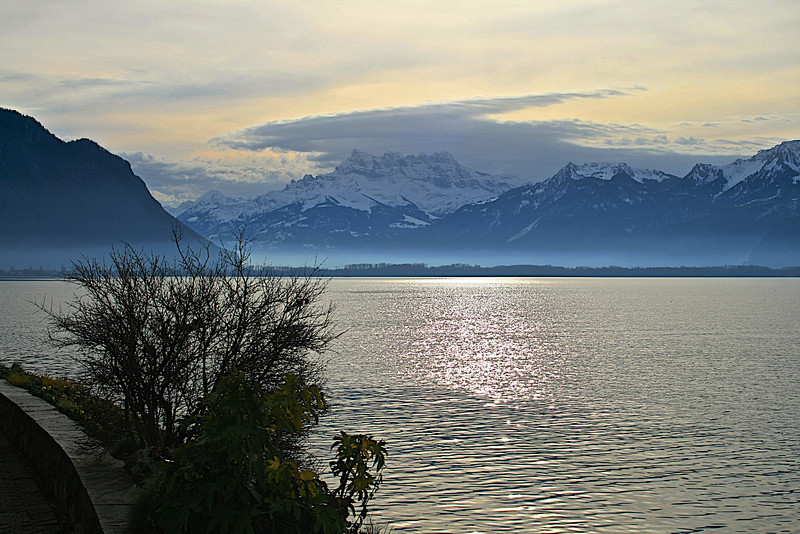 A view over Lake Geneva