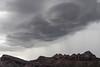 Dramatic Skies over Tucson Mountains, Tucson, Arizona, USA