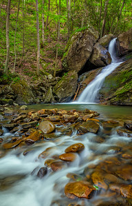Lower Keeneys Creek Waterfall