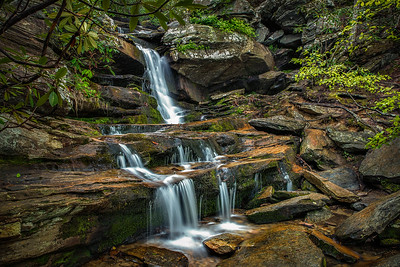Hidden Falls, Hanging Rock State Park, NC.