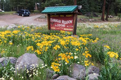 Entrance to Hannagan Meadow Lodge