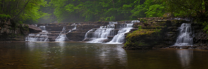 Campbell Falls, Camp Creek State Park, WV.