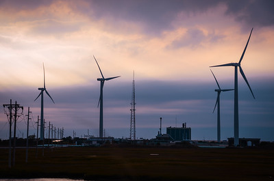 Atlantic City Windmills