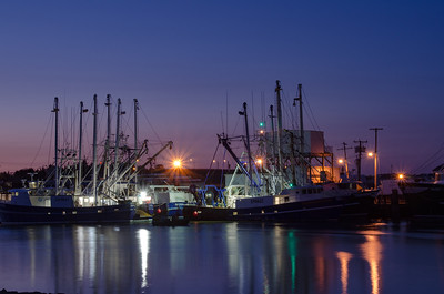Fishing Boats in Cape May
