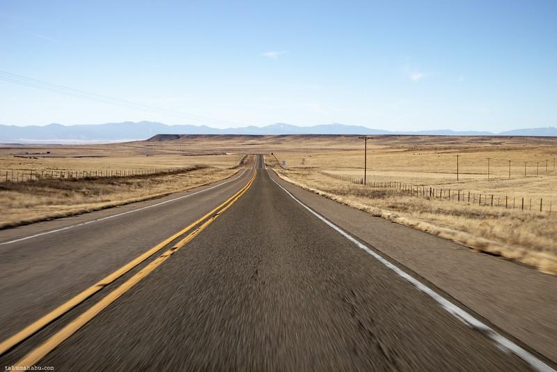 Speeding through the landscape