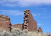 3 ft. (0.9 m) thick sandstone masonry walls of Una Vida - Chaco Culture National Historical Park