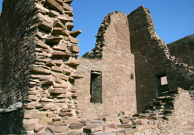 New Mexico - Chaco Canyon National Historical Park - Gila Cliff Dwelling National Monument