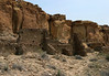Hugo Pavi - at the confluence of Chaco and Hummingbird Canyons - constructed from 1000 till 1080 AD - Chaco Culture National Historical Park.