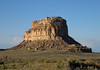 Fajada Butte, with a prominence of 380 ft. (116 m) - had a Sun Dagger atop that was used by the Ancient Pueblo People to determine the solstices, equinoxes, and lunar standstills (a major lunar standstill, is the range of the declination of the Moon reaching a maximum - as a result, at high latitudes, the Moon appears to move in just two weeks from high in the sky to low on the horizon - a lunar standstill cycle only is 18.6 years) - Chaco Canyon National Historical Park