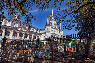 St Louis Cathedral, March 2019-1