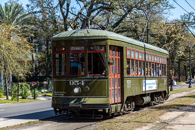 New Orleans Street Car, March 2019-1