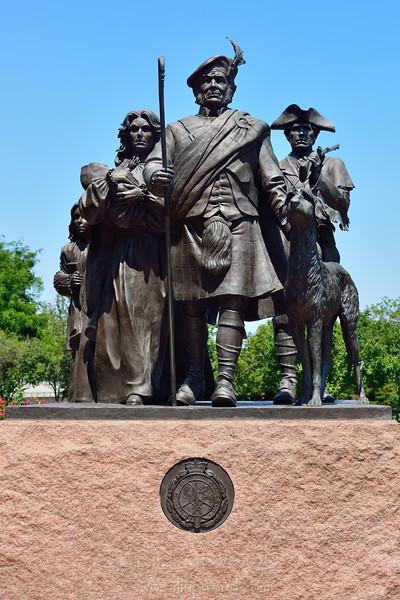 Monument to Scottish Immigrants
