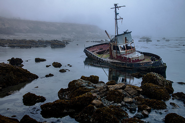Shipwreck in the Fog