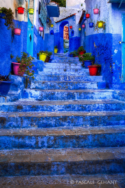 Steps and pots