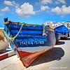 Fishing boat of Essaouira