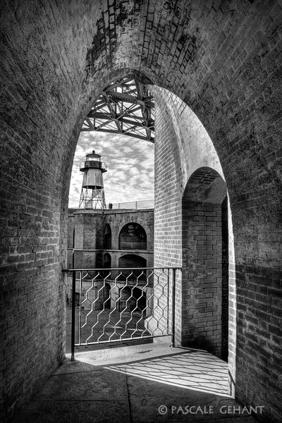 A brush of sunlight- Fort Point