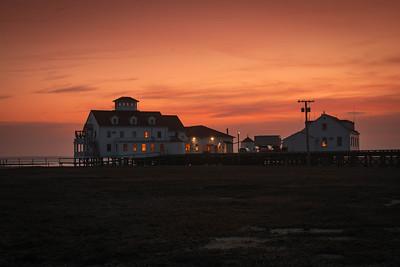 Sunset at Coast Guard Station 119 - Tuckerton, New Jersey