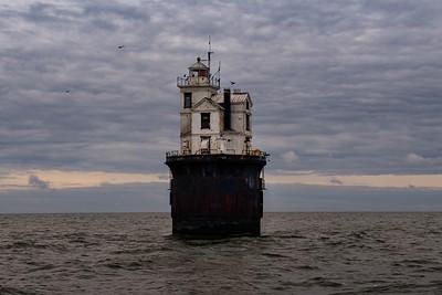Fourteen Foot Bank Lighthouse - Delaware Bay, Delaware