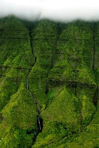 Kauai from above
