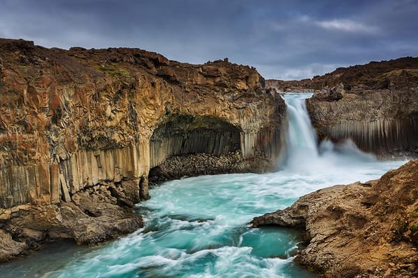 Jurassic Falls, Iceland