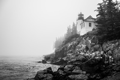 Bass Harbor Head Lighthouse  | Acadia National Park, ME