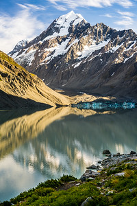 Hooker Lake Sunrise | Aoraki / Mount Cook, New Zealand