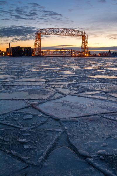 Duluth Harbor Geometry
