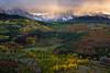 Valley Under Storm