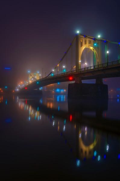 Foggy Glow Vertical
