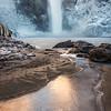 Snoqualmie Falls on Ice